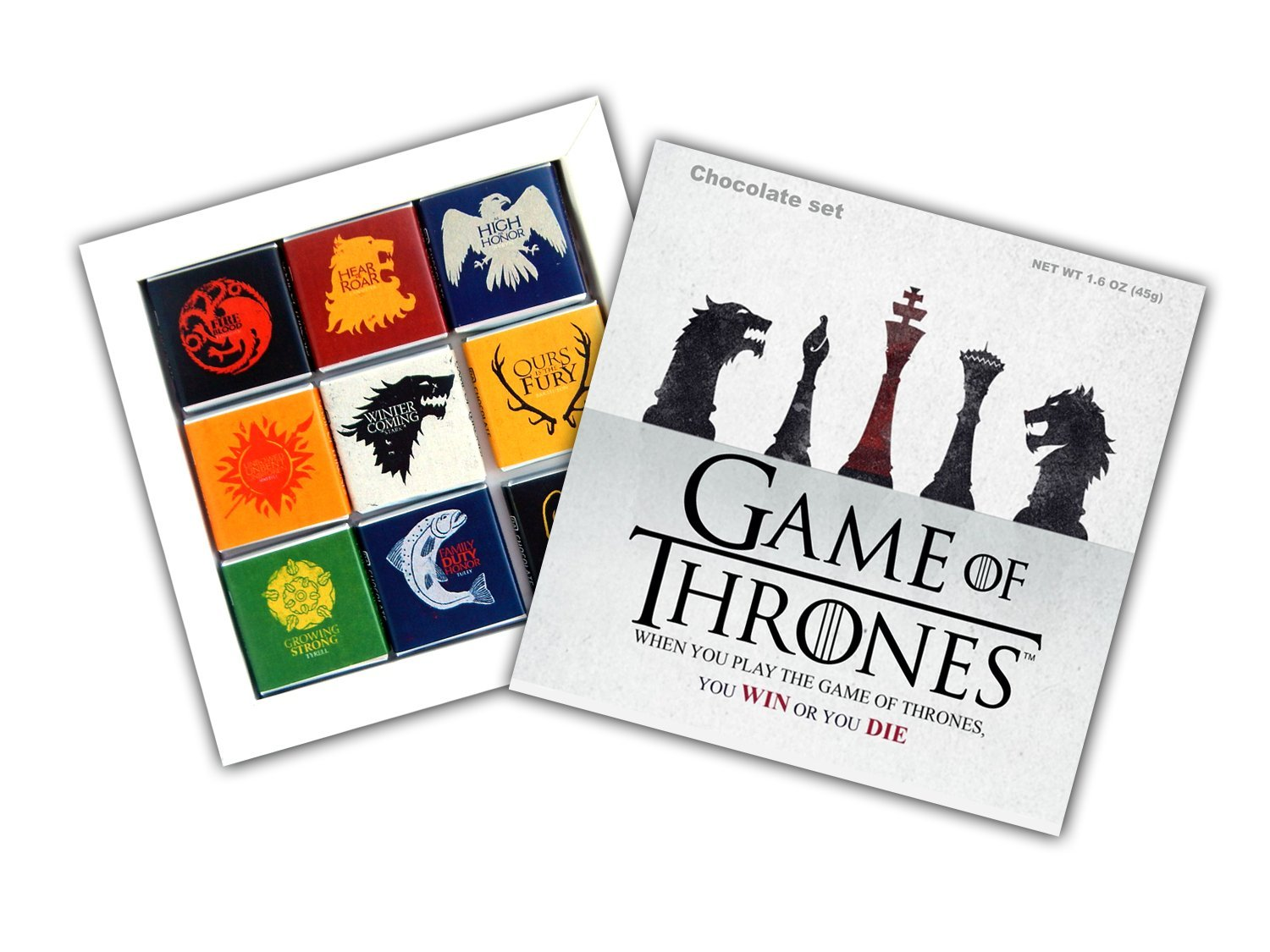 DA CHOCOLATE Souvenir Candy GAME OF THRONES Great Houses of ...