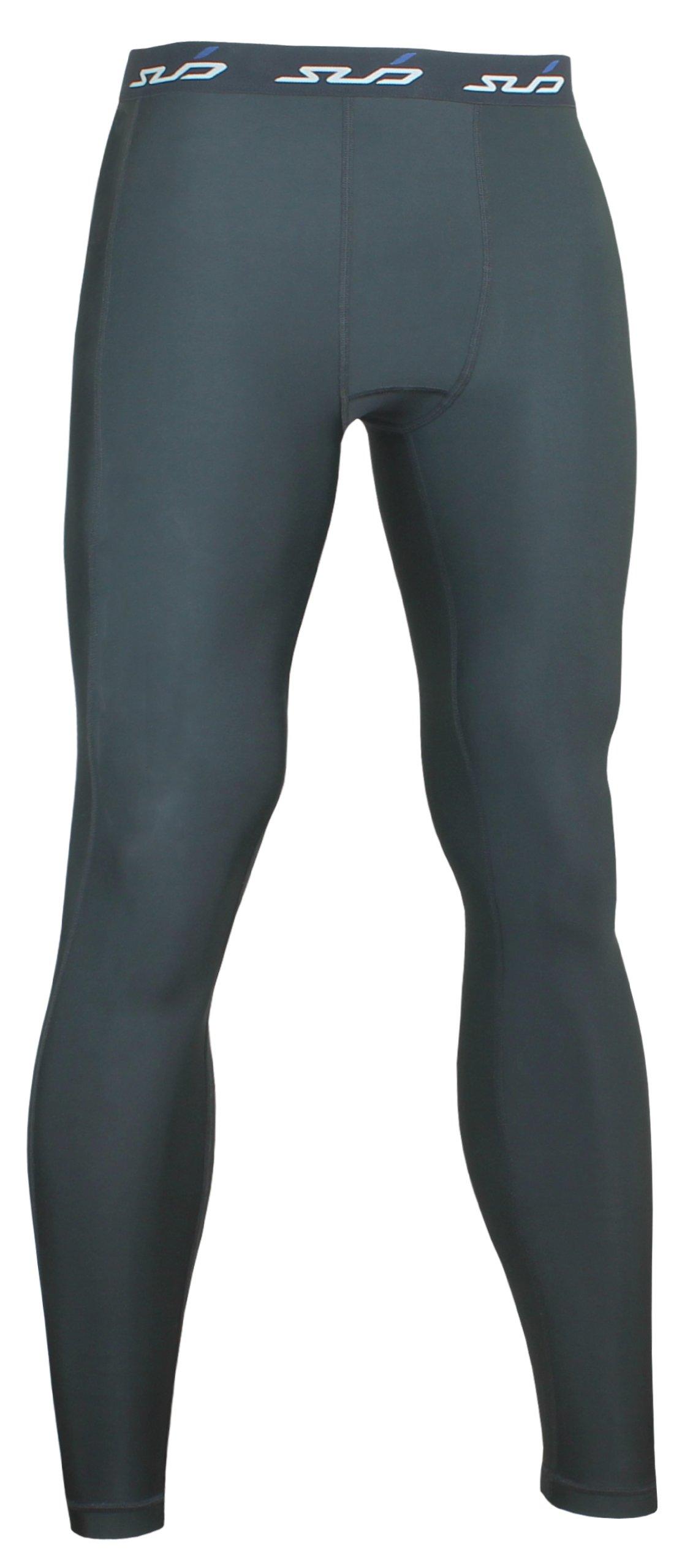 Sub Sports, Pantaloni termici di compressione Bambino, Nero (Schwarz), 152/164 cm, taglia produttore