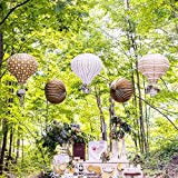 Laternen 'Heißluftballon' 3er Set
