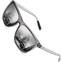 Sunmeet Occhiali da sole Uomo Polarizzati per Uomo Vintage Occhiali da sole Uomo UV400 Protezione S1001