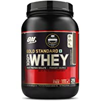 Optimum Nutrition (ON) Gold Standard 100% Whey Protein Powder - 2 lbs, 907 g (Double Rich Chocolate), Primary Source…