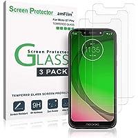 Verre Trempé Moto G7 Play, amFilm Protecteur D'écran pour Motorola Moto G7 Play (3 Pièces)