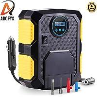 Adofys Air Compressor Tire Inflator, DC 12V Portable Air Compressor for Car Tires, Auto Tire Pump with LED Light, Digital Air Pump for Car Tires, Bicycles (Az-3609k)