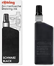Rotring Isograph and Variant Drawing Ink Bottle - 23 ml Bottle Black