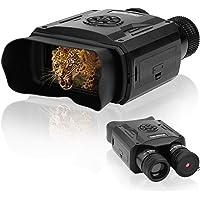 Jumelles de vision nocturne, jumelles de vision nocturne infrarouge HD, vision nocturne et lunette de jour pour adultes…