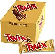 Twix Twin 25X50 gm
