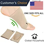 Global Household Foot Care Plantar Fasciitis Arch Support Sleeve Cushion Heel Spurs Neuromas Flat Feet Orthopaedic Pad...