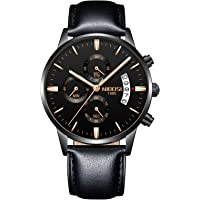 NIBOSI Chronograph Black Dial Men's Watch