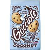 Pavesi Biscotti Frollini Gocciole Coconut, Biscotti da Colazione con Cioccolato Fondente e Cocco - 320 gr