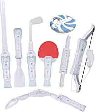 CTA Nintendo Wii Digital Sports Resort 8-in-1 Sports Pack (White)
