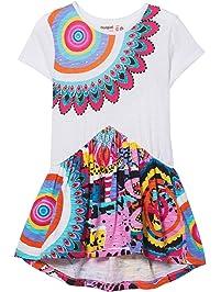 8c543f7d5 Desigual Girl Knit Dress Short Sleeve (Vest_wilminton), Vestido para Niñas