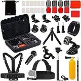 Luxebell Accessories Kit for Gopro Hero 5 4 3+ 3 2 1, AKASO EK5000 EK7000 DBPOWER EX5000 Lightdow LD4000 Sjcam J4000…