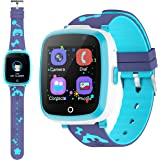 ETPARK Orologio Intelligente Bambini con 6 Giochi,Kids Smart Watch Phone per Bambini Musica MP3,LBS Anti-perso Orologio Intel