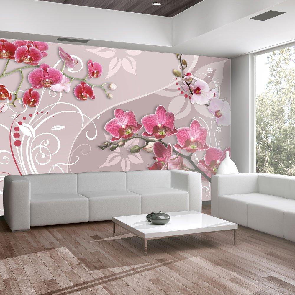 wallpaper 350x245 cm non woven murals wall mural photo wallpaper 350x245 cm non woven murals wall mural photo 3d modern flowers 10110906 33 amazon co uk diy tools