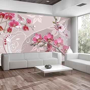 Wallpaper 350x245 Cm   Non Woven   Murals   Wall   Mural   Photo   3D    Modern   Flowers 10110906 33: Amazon.co.uk: DIY U0026 Tools Part 66