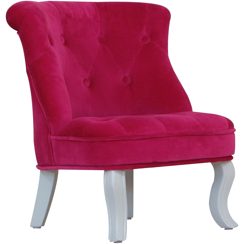 Kidsaw Mini Chair Cabrio Pink Velvet Amazon Kitchen & Home