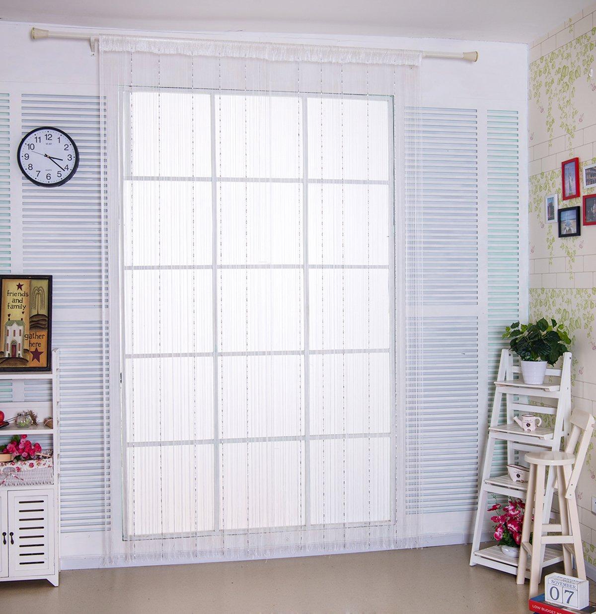 Beaded Chains String Door Net Curtain Fly Screen For Doorway Patio