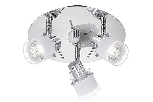 Badlampen deckenleuchte  Briloner Leuchten Badleuchte, Badlampe, Deckenleuchte 3 x GU10 ...