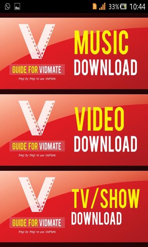 vidmate music download