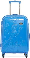 """GAMME Polycarbonate 20"""" Blue Hard Sided Children's Luggage"""