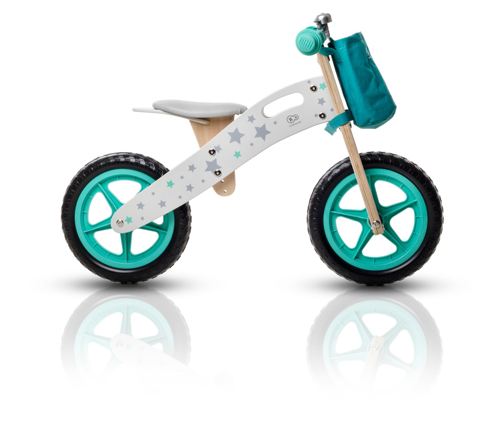 Kind Kraft Big Bobby Runner Lernlaufrad Bambini Bicicletta Ruota