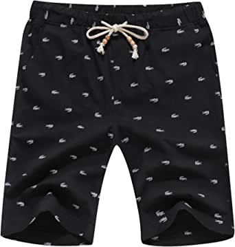 AIYINO Mens Shorts Casual Classic Fit Summer Shorts with Pockets