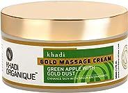 Khadi Organique Face Gold Massage Cream, 50 g