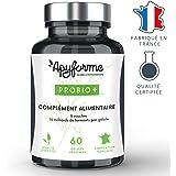 Apyforme - Probio + - Probiotiques haute efficacité - 8 souches probiotiques - Dosage 14 milliards d'UFC par gélule - 2 mois de cure - 60 gélules - Made in France