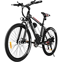Vivi E-Bike Elektrofahrrad Mountainbike, 26 Zoll Elektrisches Fahrrad 350W Ebike Elektrofahrräder mit Abnehmbarer 36V…