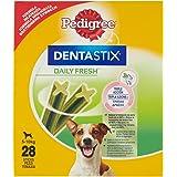 PEDIGREE Dentastix Fresh Snacks für Mundhygiene (kleine Hunde 5-10 kg), 28 Stück, 440 g