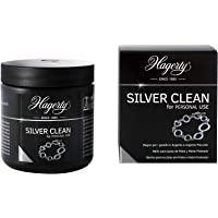 Hagerty Silver Clean Bain de trempage pour bijoux en argent et argent 170 ml I rapide et efficace liquide nettoyant…