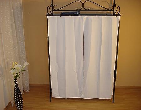 moebel direkt online Garderobe mit Vorhang _ Metallgarderobe _ ...