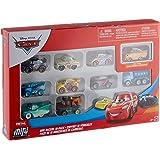Disney Cars GKG70-GKG08 Cars Mini Racers 10 Pack ASST