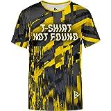 Blowhammer T-Shirt Uomo - Not Found Yellow Tee