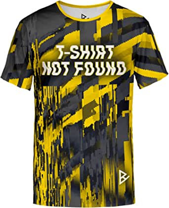 Blowhammer T-Shirt Uomo - Not Found Yellow Tee
