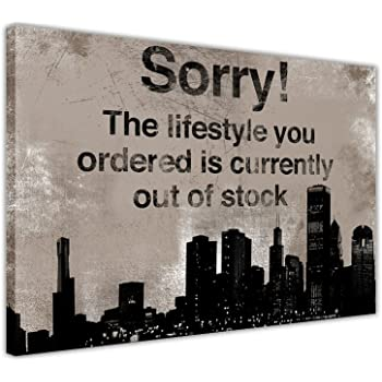 00760f7be17f THE LIFESTYLE YOU ORDERED IS CURRENTLY OUT OF STOCK CANVAS WALL ART. This  item ...