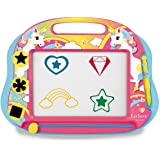 Lexibook 1 magisk magnetisk enhörning rittavla, magnetisk tavla för barn, konstnärliga kreativa leksaker för flickor, pennor