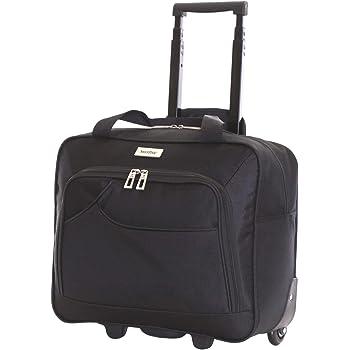 7f17044eaada DURAGADGET Lightweight Laptop Trolley Bag With Heavy-Duty Telescopic ...