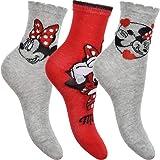 Disney Pack de 3 calcetines de Minnie Mouse.