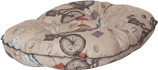 Danish Design Pet Products Steppkissen mit antikem Fahrraddesign