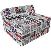 Natalia Spzoo Matelas lit Fauteuil futon Pliable Pliant Choix des Couleurs - Longueur 200 cm (LONDON2)
