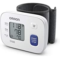 OMRON RS1 Misuratore di Pressione Arteriosa da Polso - Apparecchio Portatile per Misurare la Pressione e il Monitoraggio…
