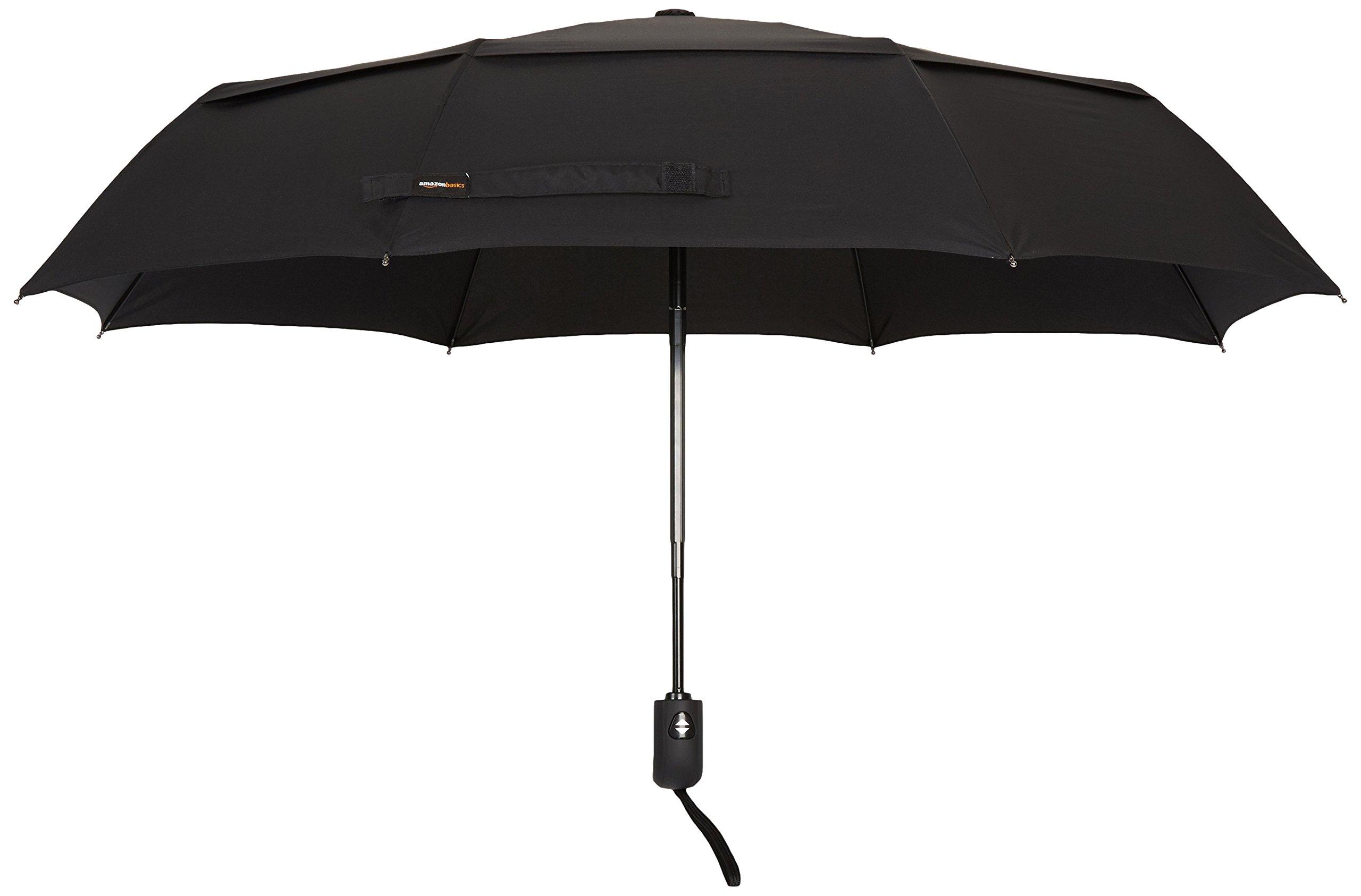 AmazonBasics Umbrella with Wind Vent, Light Blue 2