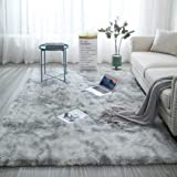 Living room carpets, fluffy super soft carpets for home decoration, plush carpets for bedrooms, living rooms, and children's