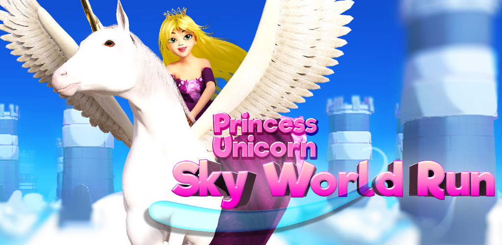Zoom IMG-1 princess unicorn sky world run