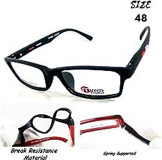 TR Brand Frame Zone - Nayan iCare new look branded rectangular / oval / cat eye / spectacles frames for men & women stylish | women fashion | eye frames | eyeglass | eyewear spectacle for men & women - SPRING SUPPORTED