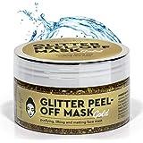 Glitter masker goud. Reinigings- of schoonheidsmasker met een maximale reinigende werking. PEEL OFF MASK GOUD.