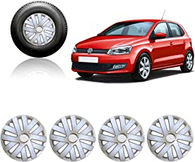 Auto Pearl 15-inch Wheel Cover Cap for Volkswagen Polo (Set of 4)