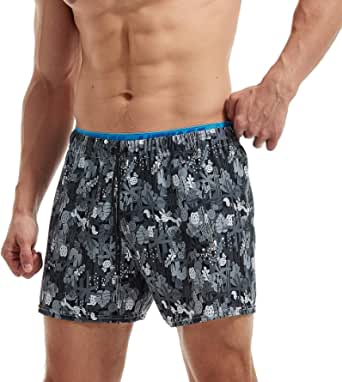 AIMPACT Mens Swim Trunks Bathing Suit Quick Dry Swimsuit for Men Beach Board Shorts with Pockets and Lining