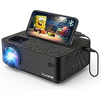 """Vidéoprojecteur, Vili Nice WiFi Mini Projecteur Full HD 6000 Lux Retroprojecteur avec 1080P et 240"""" Supported…"""